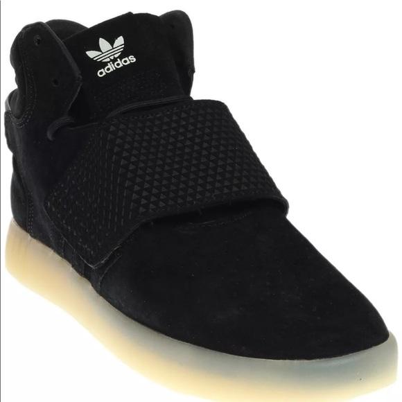 adidas schuhe tubuläre invader - schwarze männer in größe 10 poshmark
